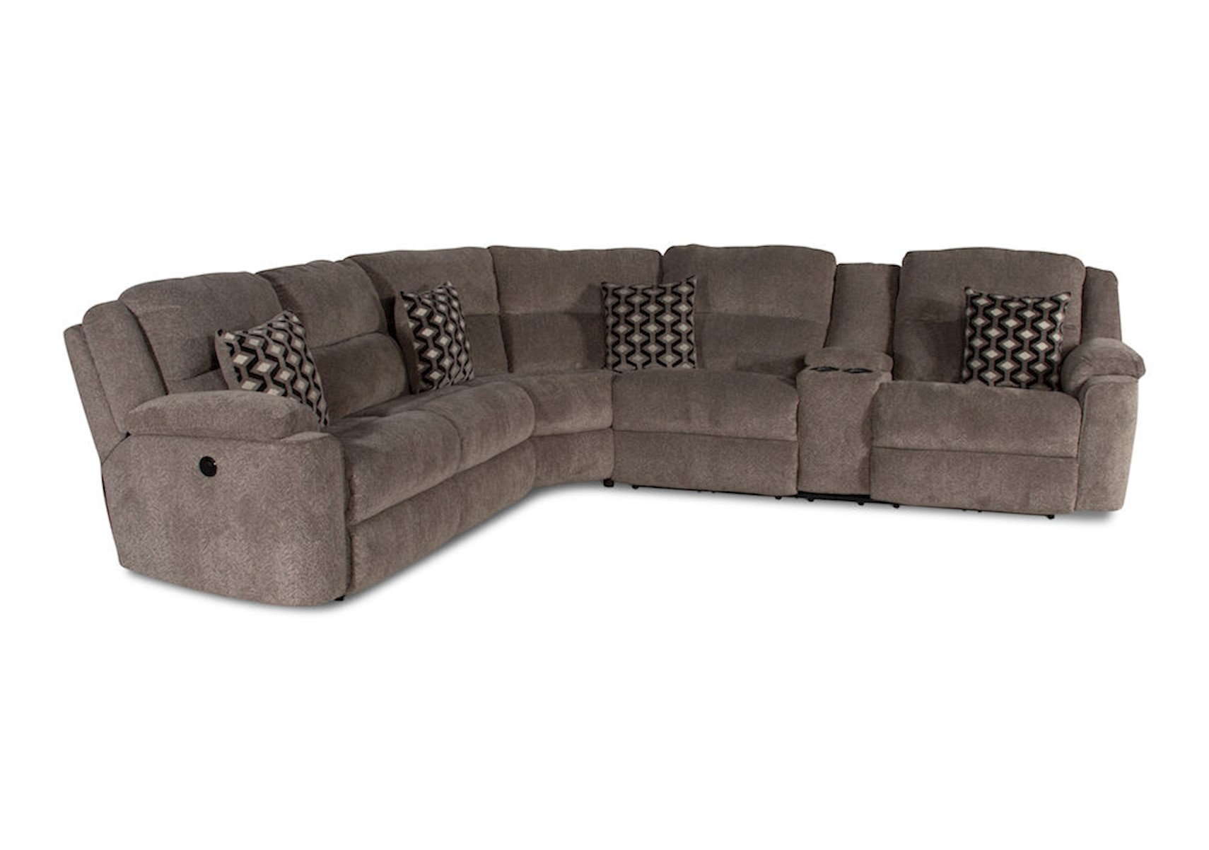 Stupendous Lacks Catalina 3 Pc Reclining Sectional With Power Squirreltailoven Fun Painted Chair Ideas Images Squirreltailovenorg