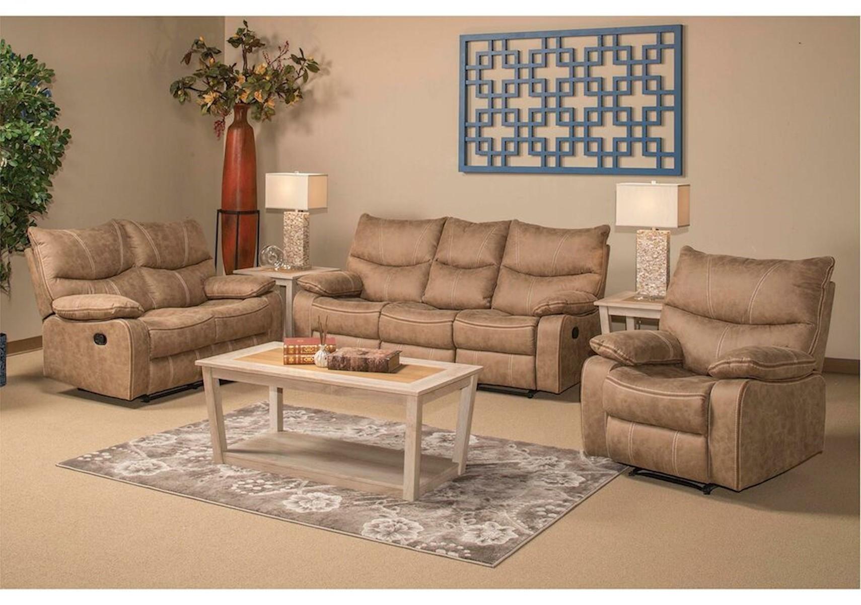 Lacks  Peyton 4-Pc Reclining Living Room Set