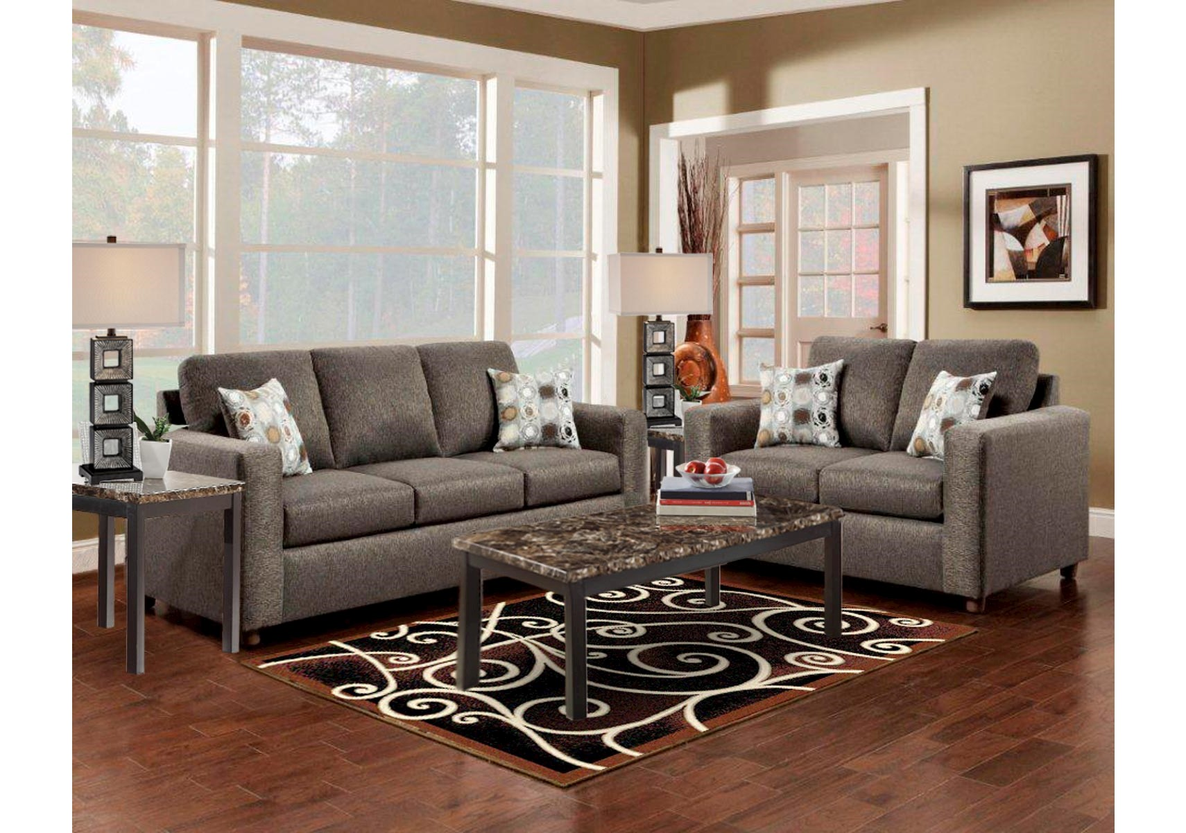 Lacks 2 Pc Living Room Set