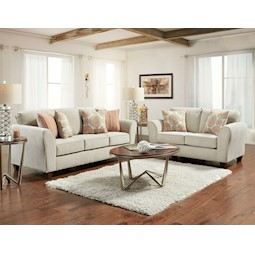 Amhurst 2 Pc Livingroom Set