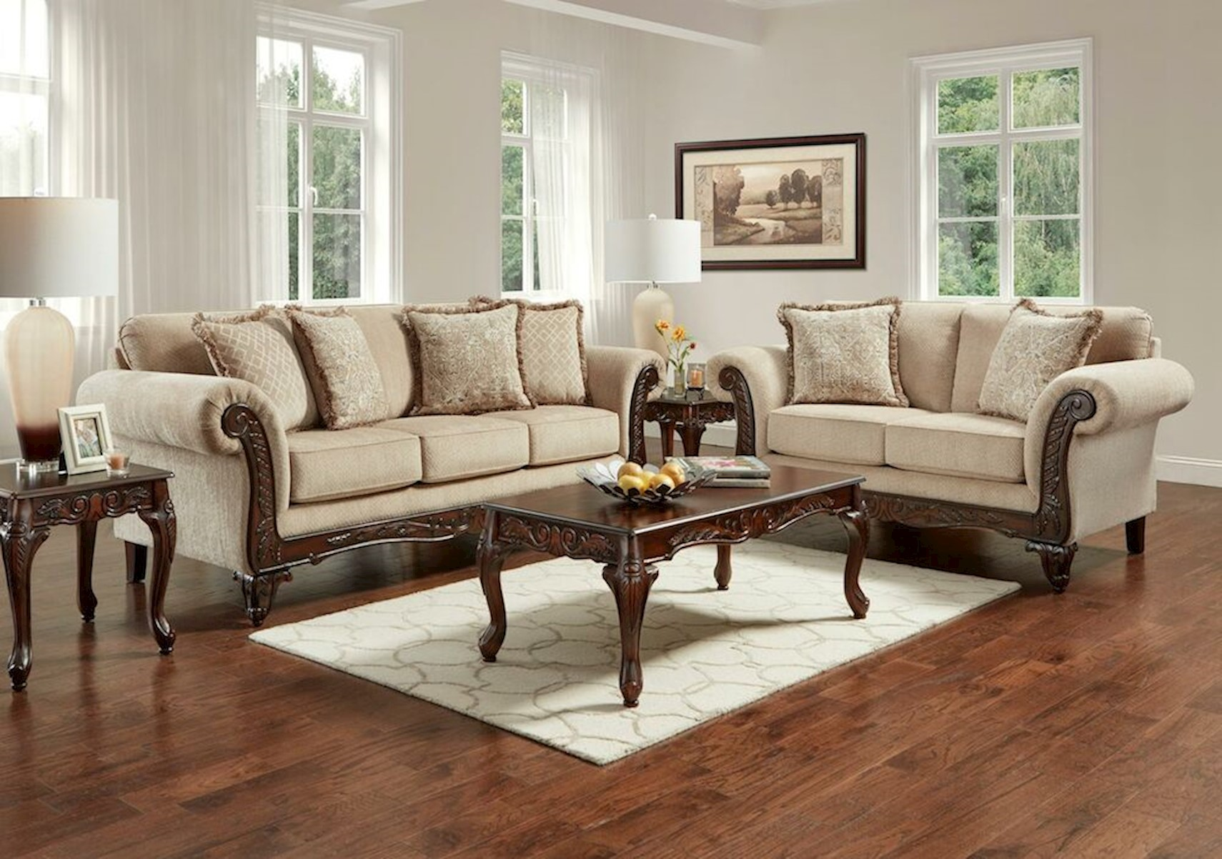 Lacks | Emory 2-Pc Living Room Set