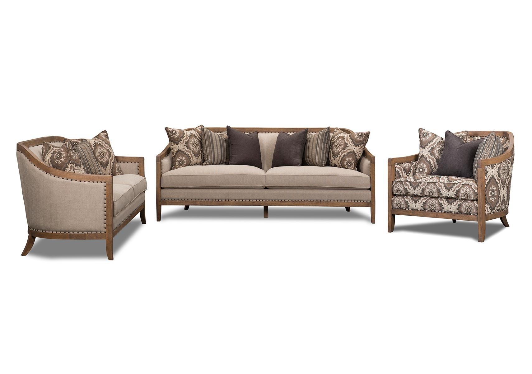 Lacks | Colburn 3-Pc Living Room Set