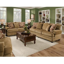 Balvenie Tan 2 Pc Living Room Set