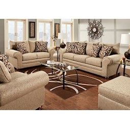 Great Mix Caf Pc Living Room Set With Couch Laredo