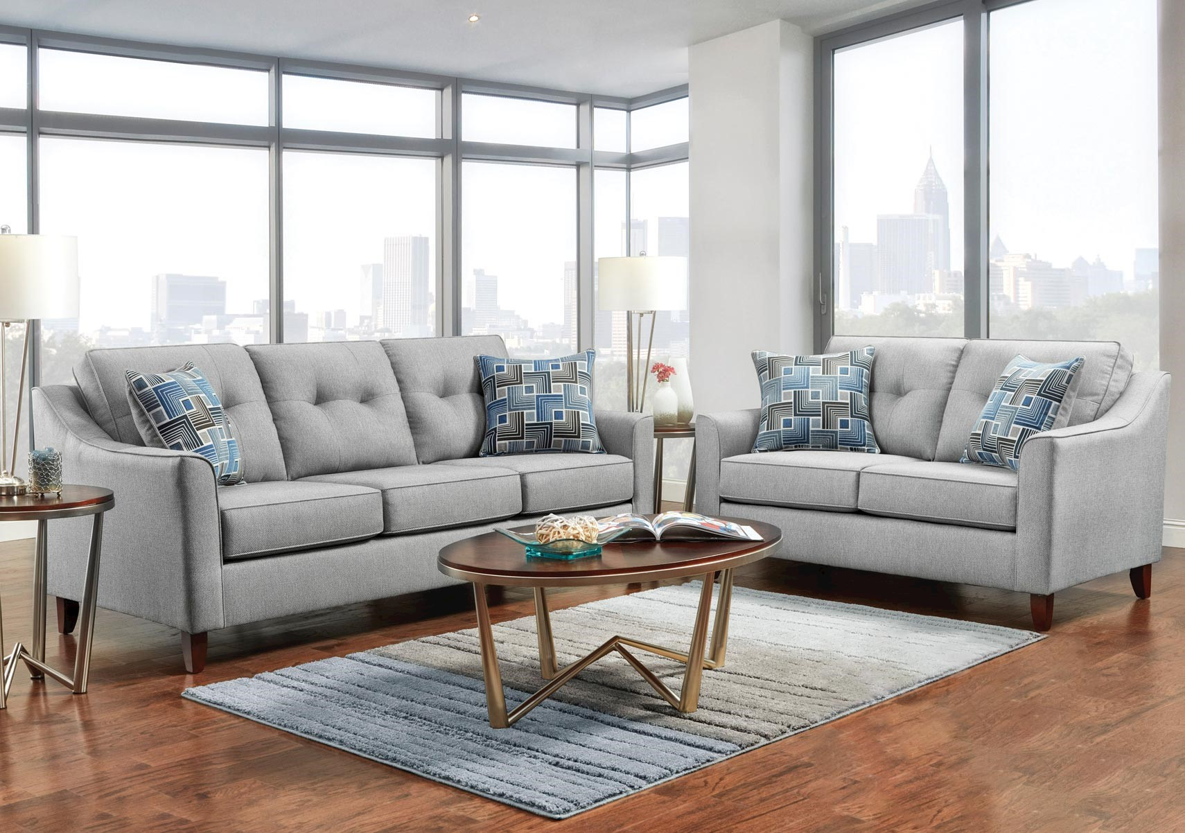 Lacks | Urban 2-Pc Living Room Set
