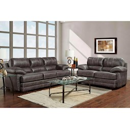 Nevada Ash 2 Pc Living Room Set