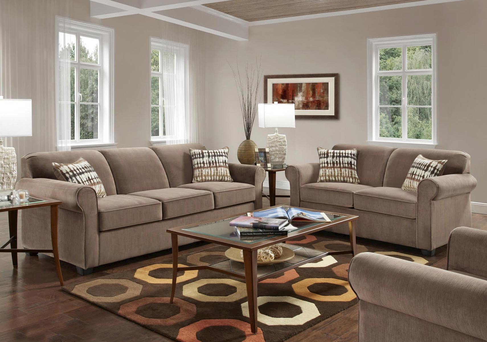 Lacks | Salem 2-Pc Living Room Set