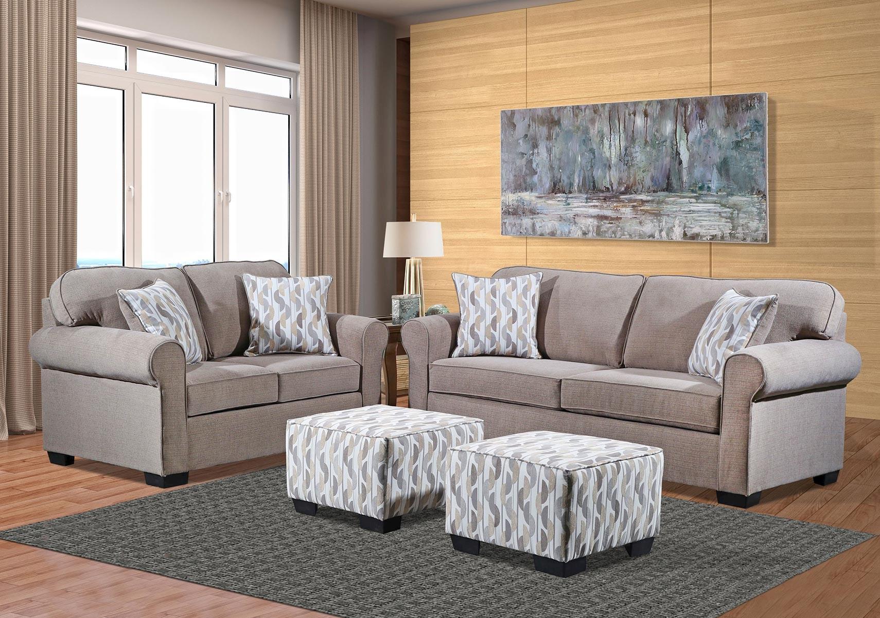 Lacks Bedford 2 Pc Living Room Set