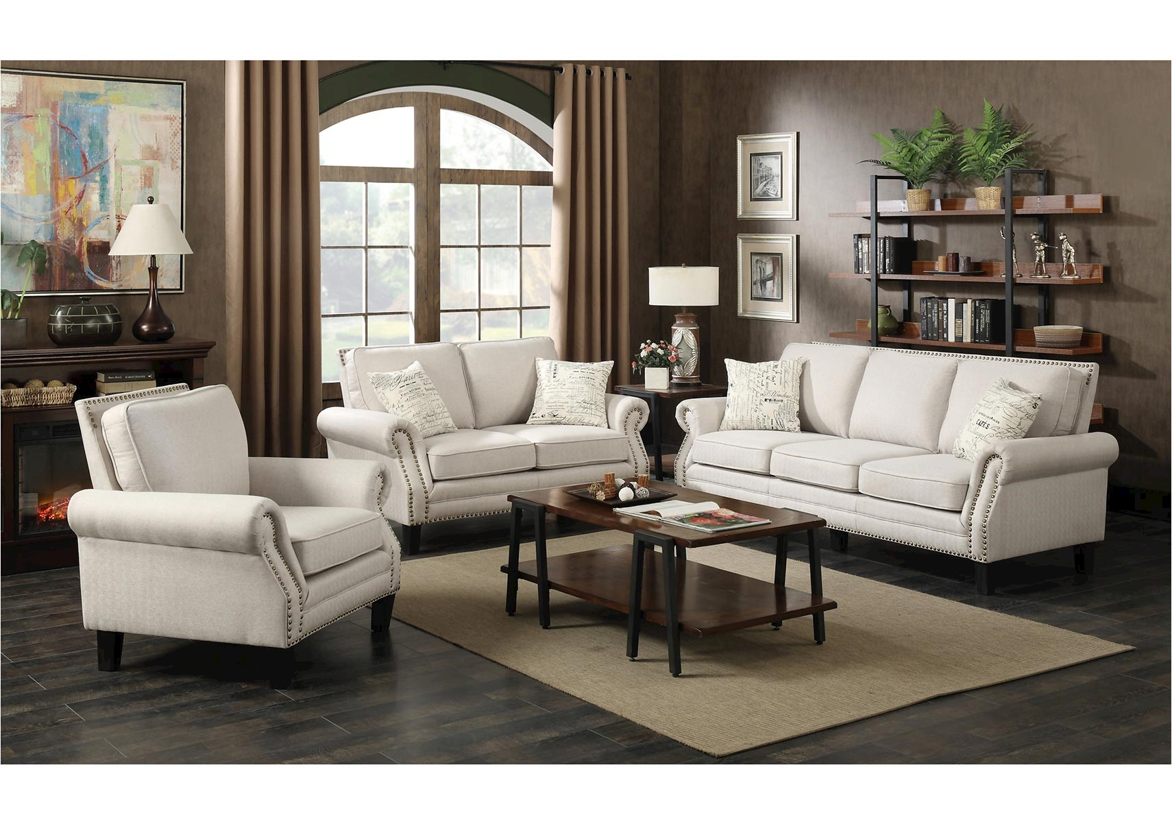Yorktown 3 Pc Living Room Set