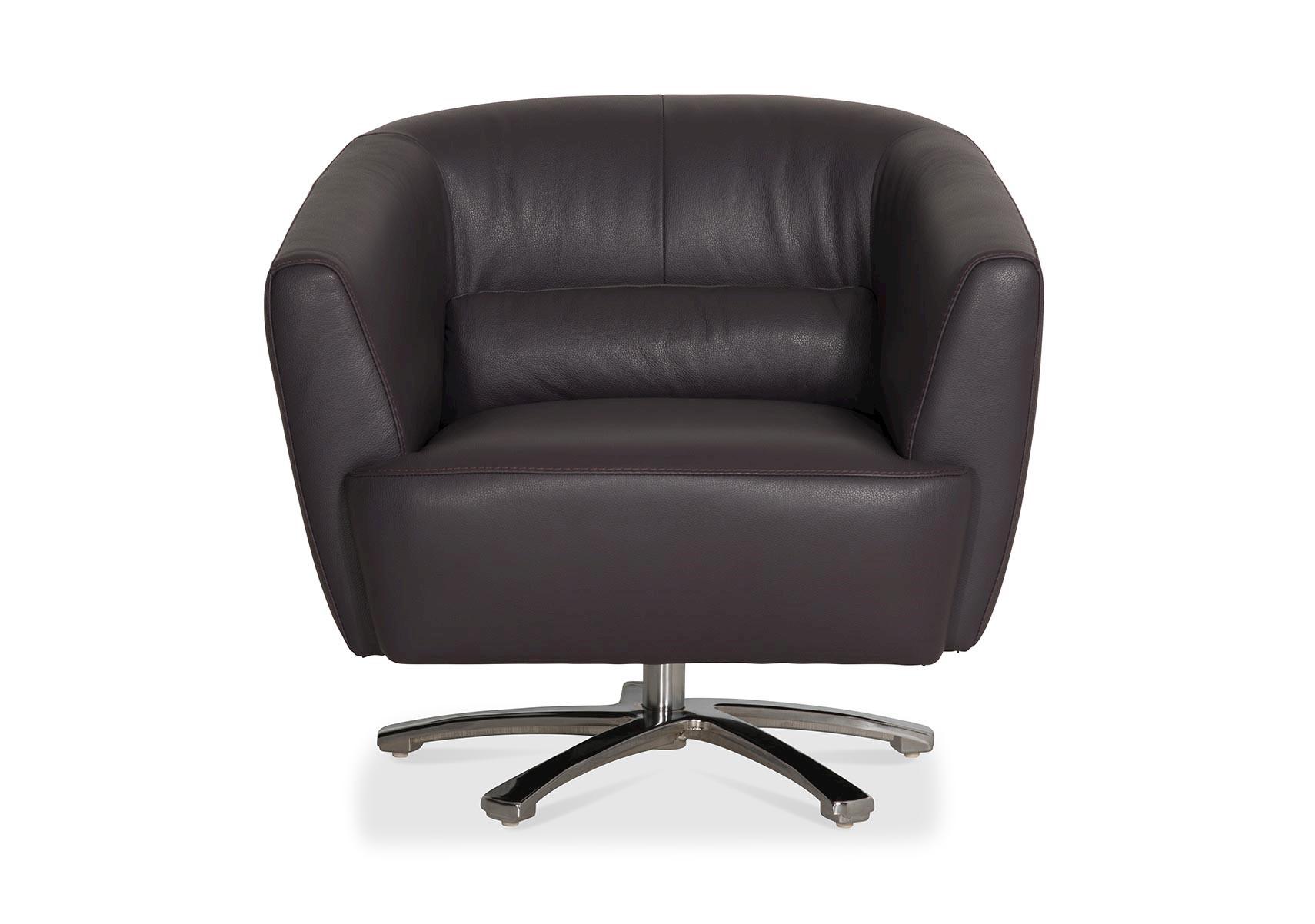 Purple Jaz Swivel Chair