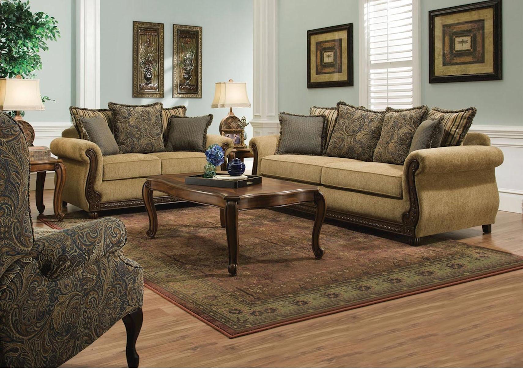 Living Room Furniture Set Formal Sofas For Living Room Brown Bonded Leather Living Room Sofa W