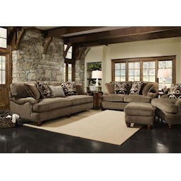Prodigy Mink 2 Pc Living Room Set