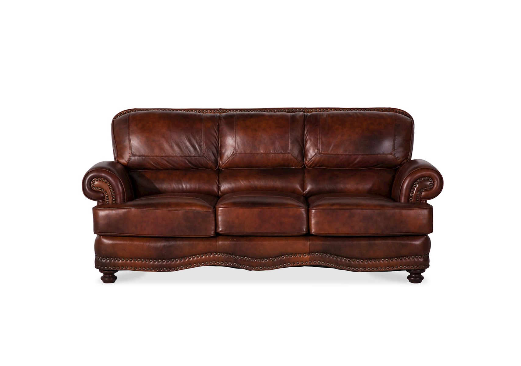 Lacks Cowboy Top Grain Leather Sofa