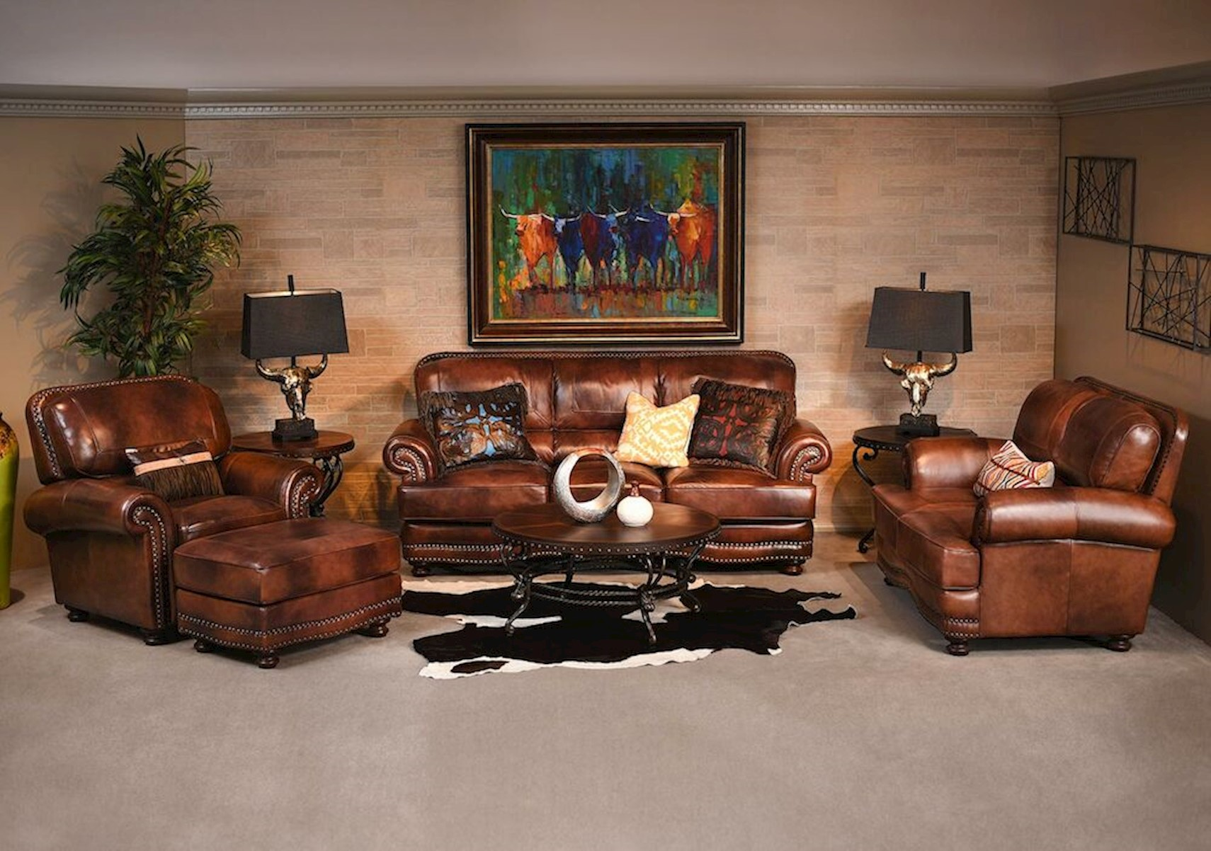 Lacks | Cowboy 2 Pc Living Room Set Part 87