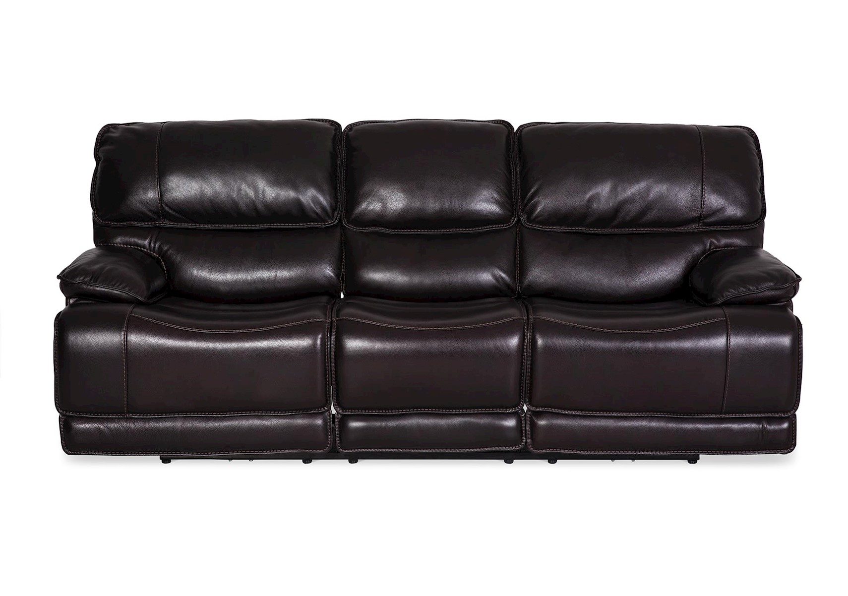 Lacks Longhorn Dual Reclining Leather Sofa ~ Recliner Leather Sofa Deals