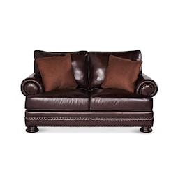 Foster Leather Loveseat