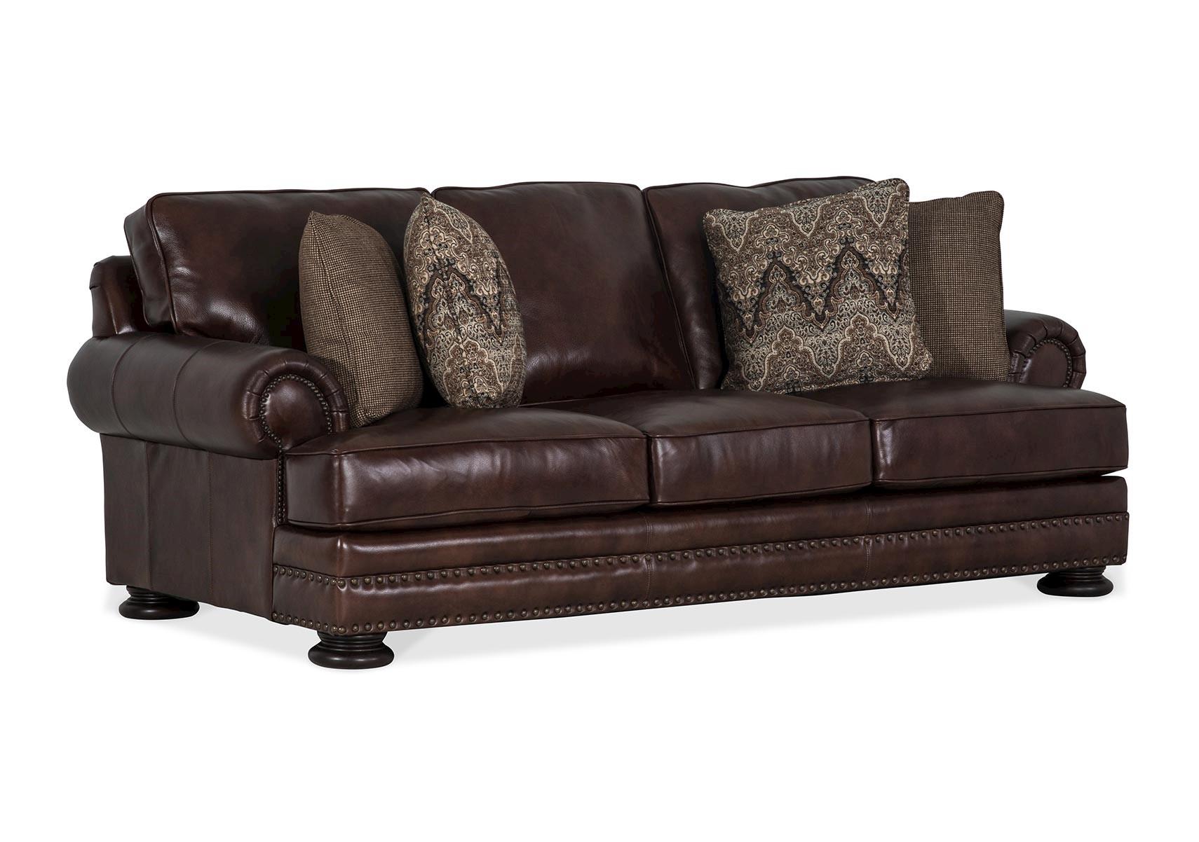 Lacks | Foster Chocolate Leather Sofa