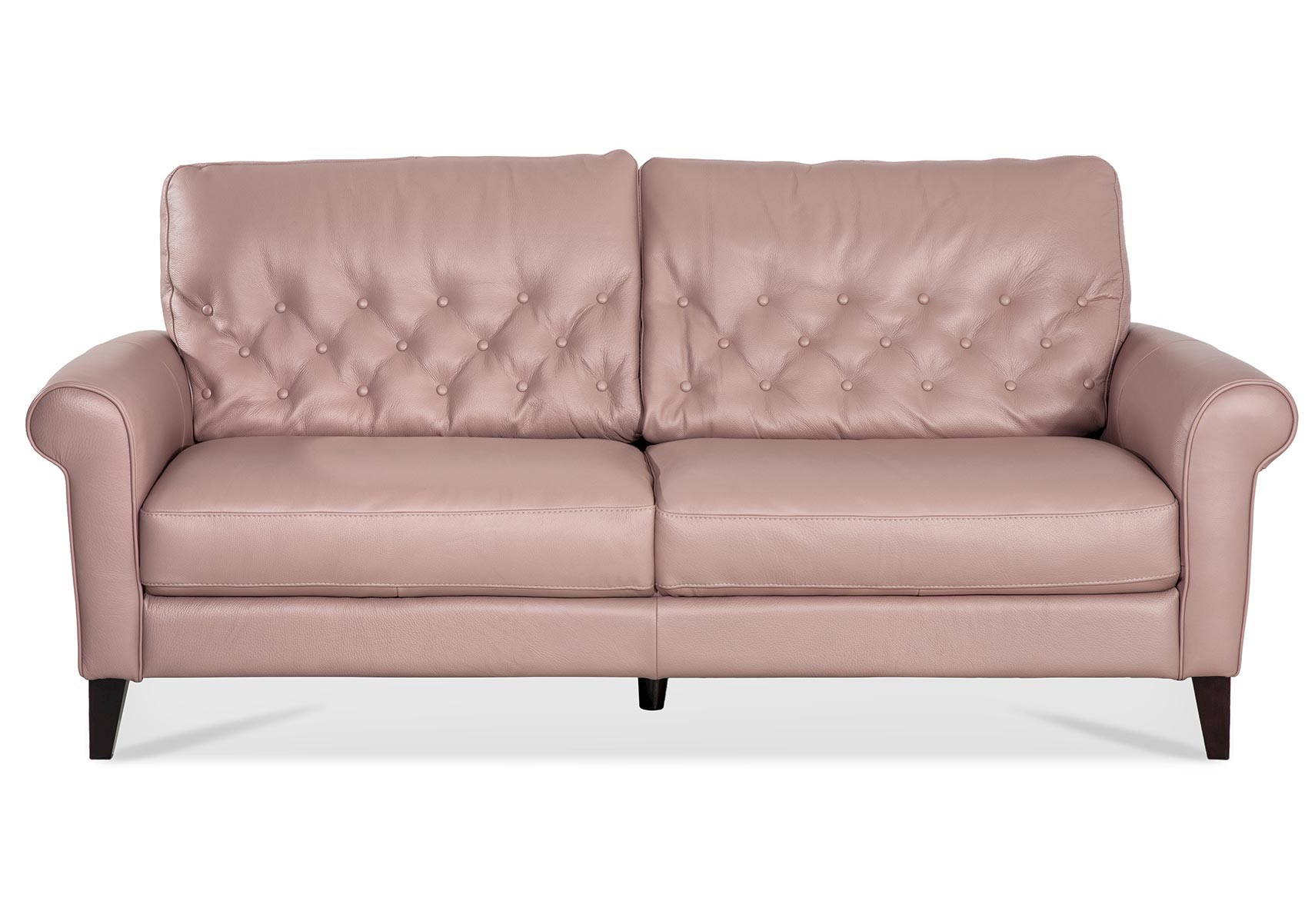 Dream Pink Leather Sofa