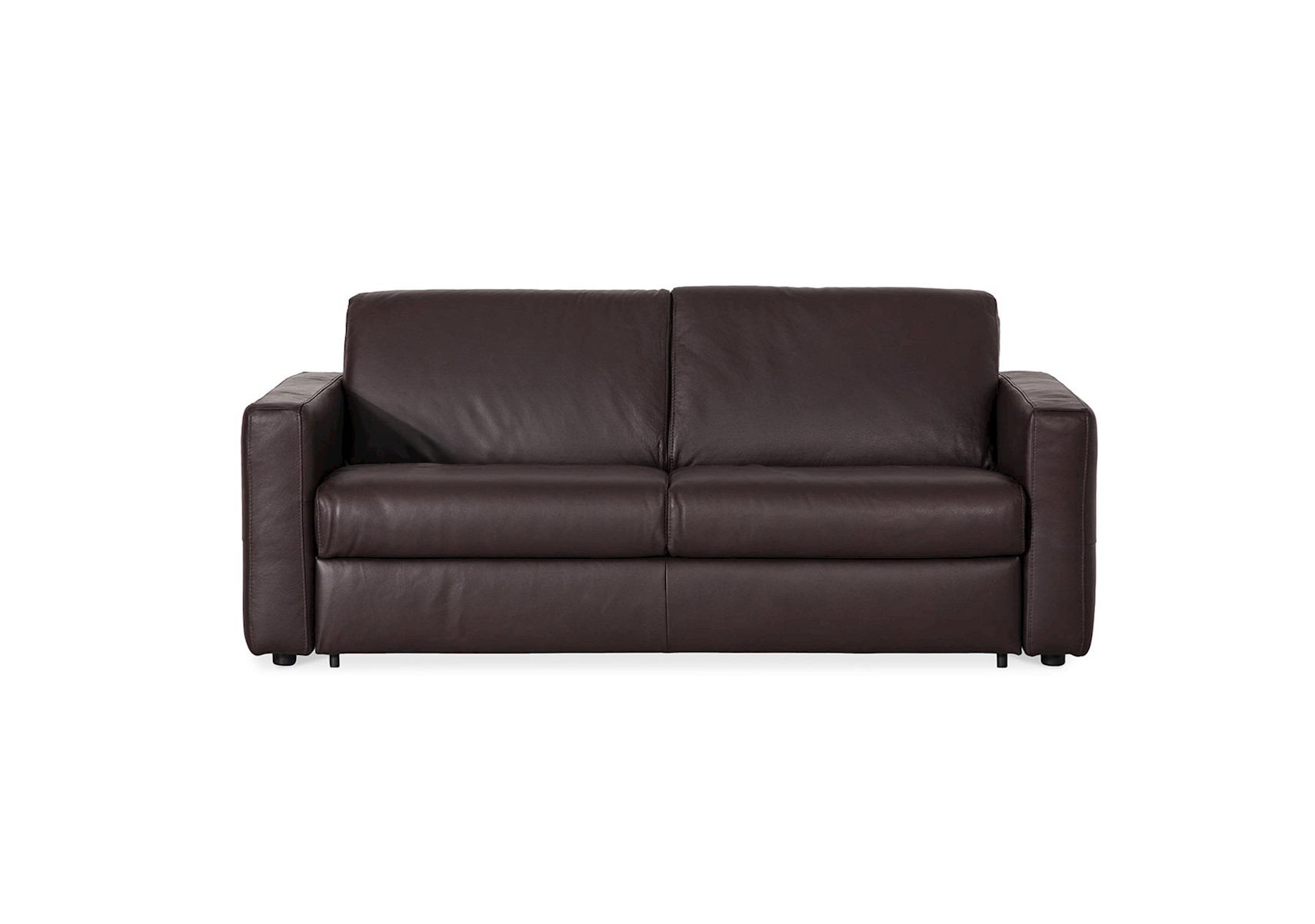 Lacks Modena Leather Sleeper Sofa ~ Brown Leather Sleeper Sofa