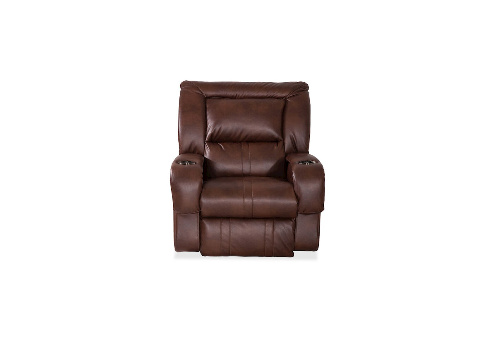 Roxie Lay Flat Power Recliner In Brown