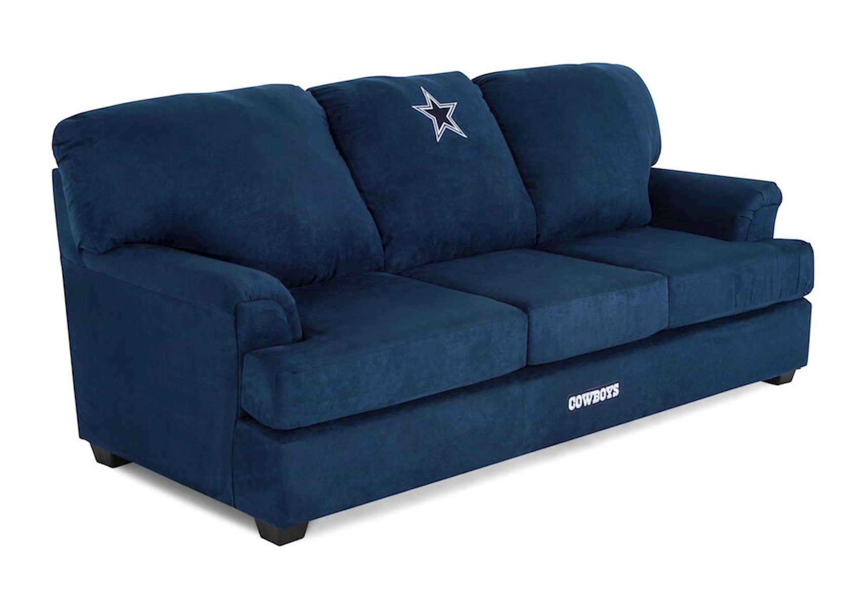 Dallas Cowboys Sofa Dallas Cowboys Convertible Sofa W Tray
