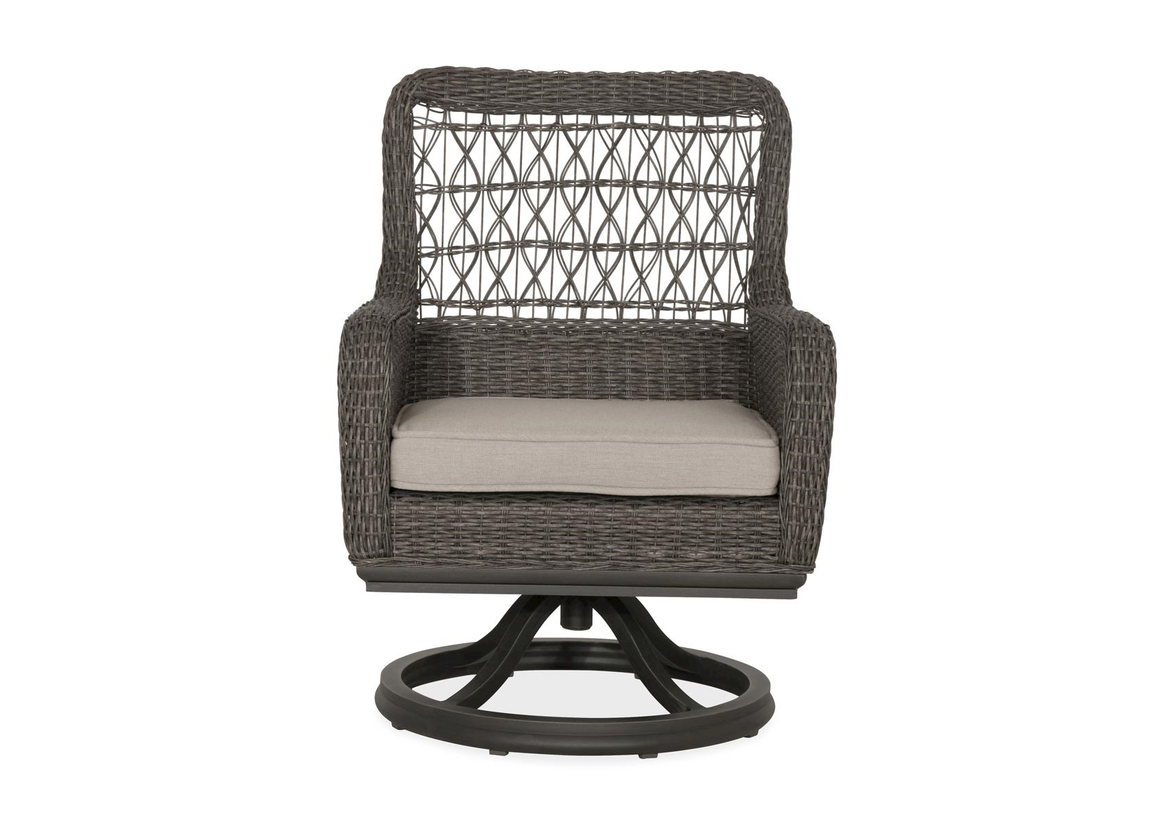 Superb Lacks Dogwood Swivel Outdoor Dining Chair By Paula Deen Caraccident5 Cool Chair Designs And Ideas Caraccident5Info