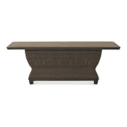 Lacks Dogwood 84 Rectangle Outdoor Dining Table By