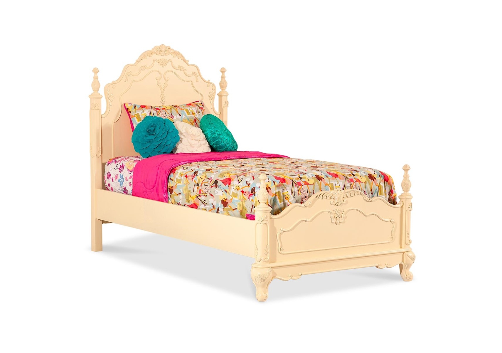 Cinderella twin bed image of canopy bed twin with storage for Twin size beds for girls