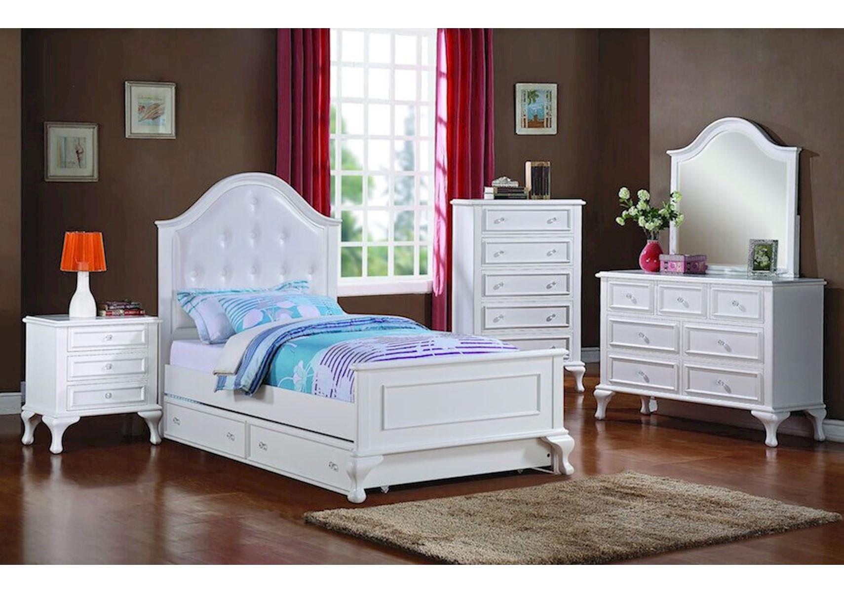 Lacks Jesse 4 Pc Kids Twin Bedroom Set