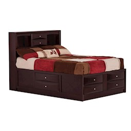 Emily Queen Storage Bed Lacks  4 Pc Bedroom Set