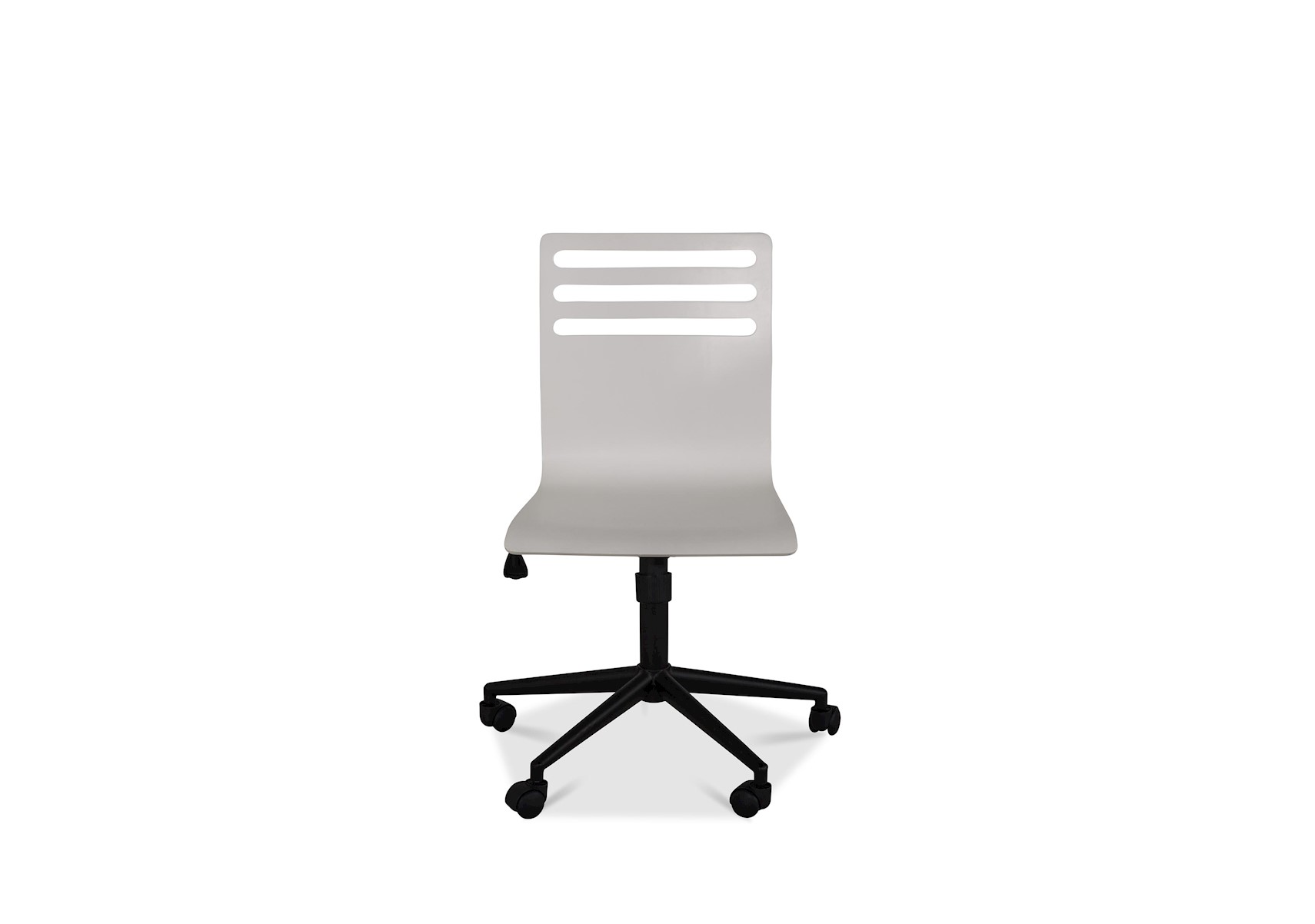 Classics 4 0 White Swivel Desk Chair