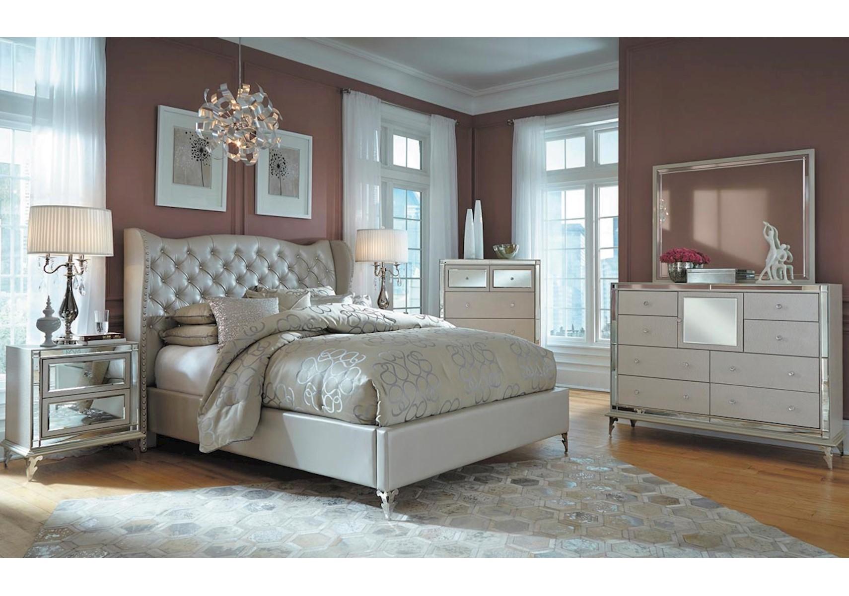 Lacks | Hollywood Loft 4-Pc Queen Bedroom Set