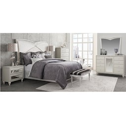 Melrose Plaza 4 Pc Queen Bedroom Set