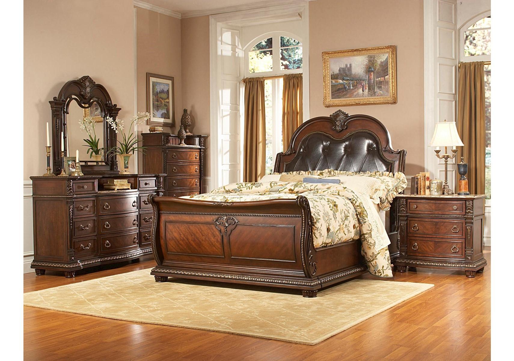 Lacks Covington 4 Pc Queen Bedroom Set