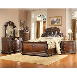 Lacks Covington 4 Pc Queen Bedroom Set