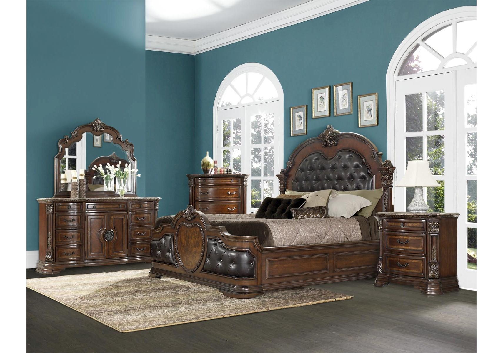 Lacks | Cartagena 4-Pc Queen Bedroom Set