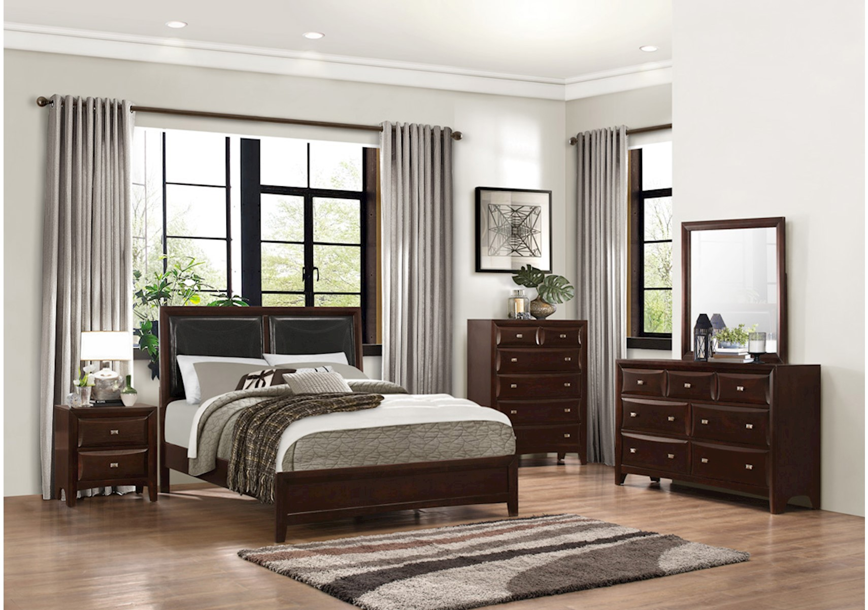 Avalon 4 Pc Queen Bedroom Set