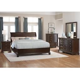 Inglewood 4 Pc Queen Bedroom Set