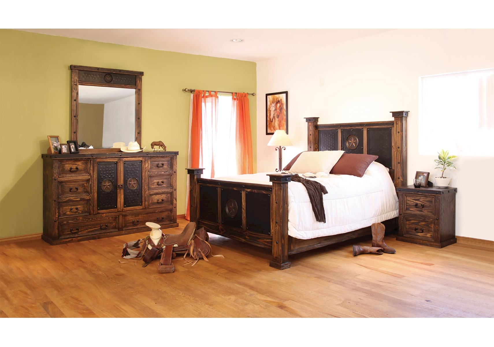 Lone Star II 4 Pc Queen Bedroom Set