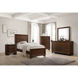 Jacob 4 Pc Twin Bedroom Set