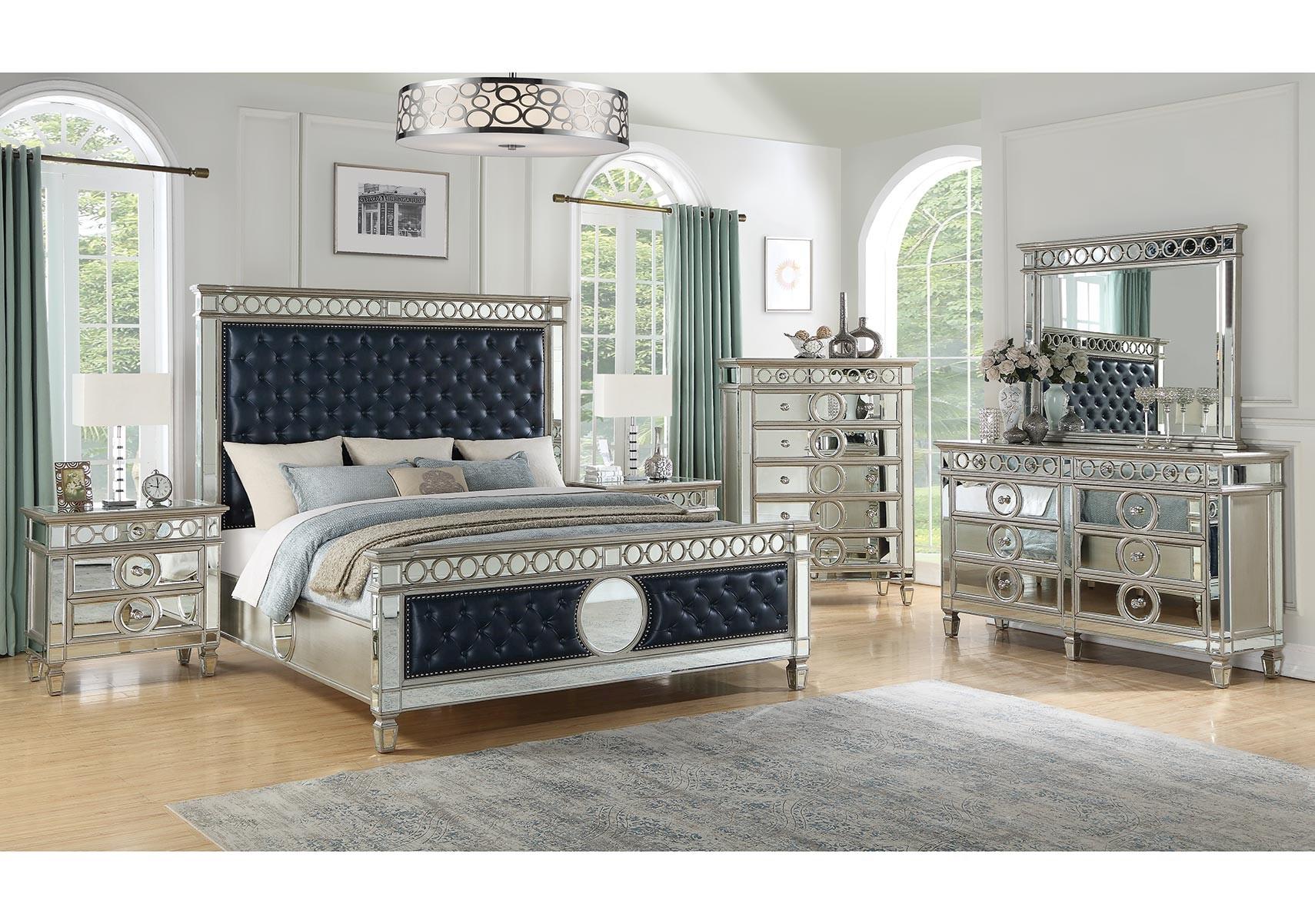 Lacks  Sapphire 13-Pc Queen Bedroom Set