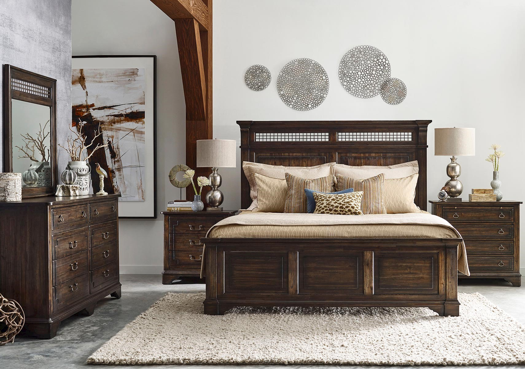 Awesome Wildfire 4 Pc Queen Bedroom Set