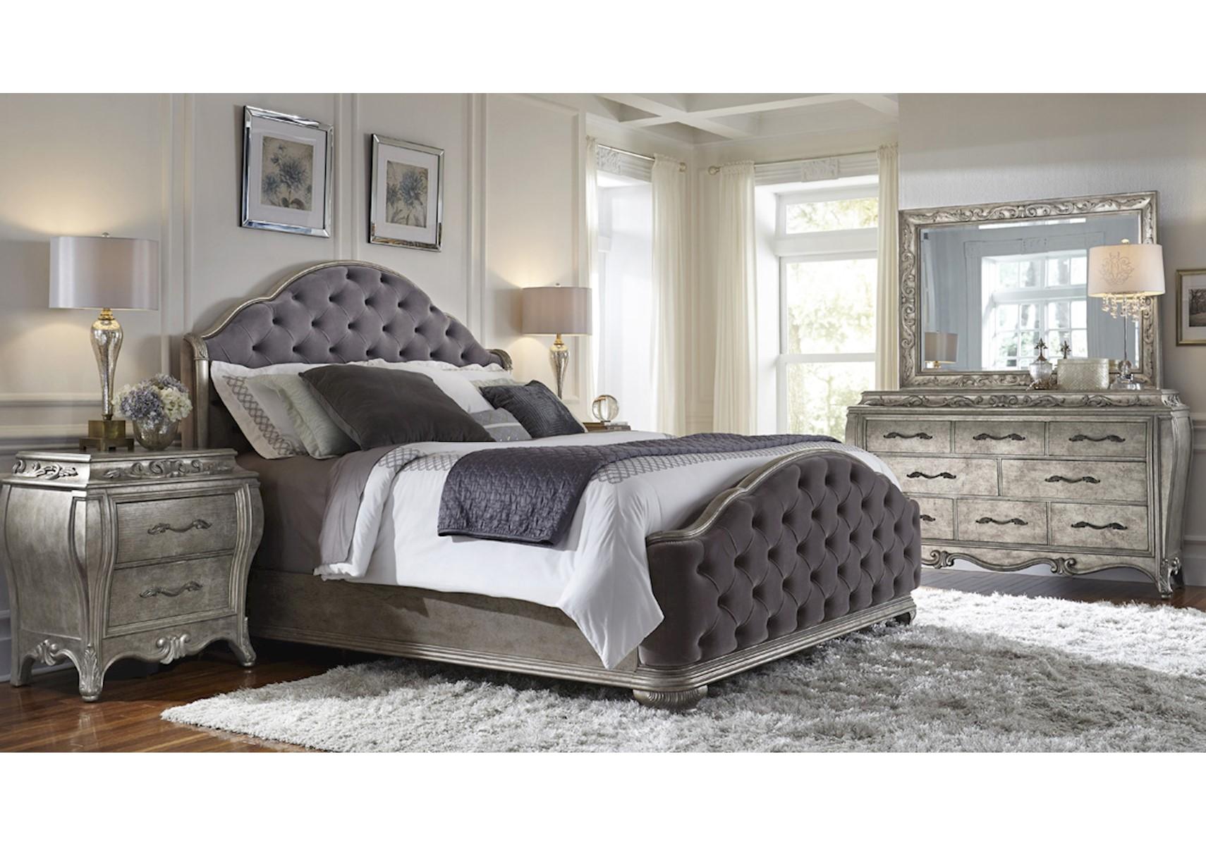 lacks rhianna 4 pc queen bedroom set