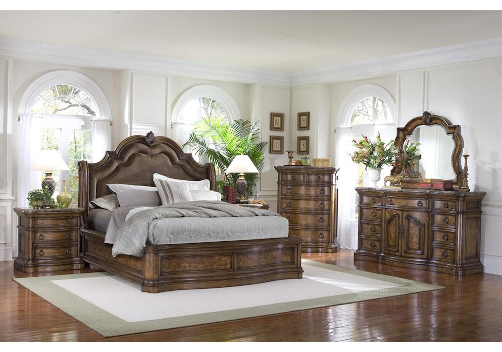 Bon San Mateo 4 Pc Queen Bedroom Set