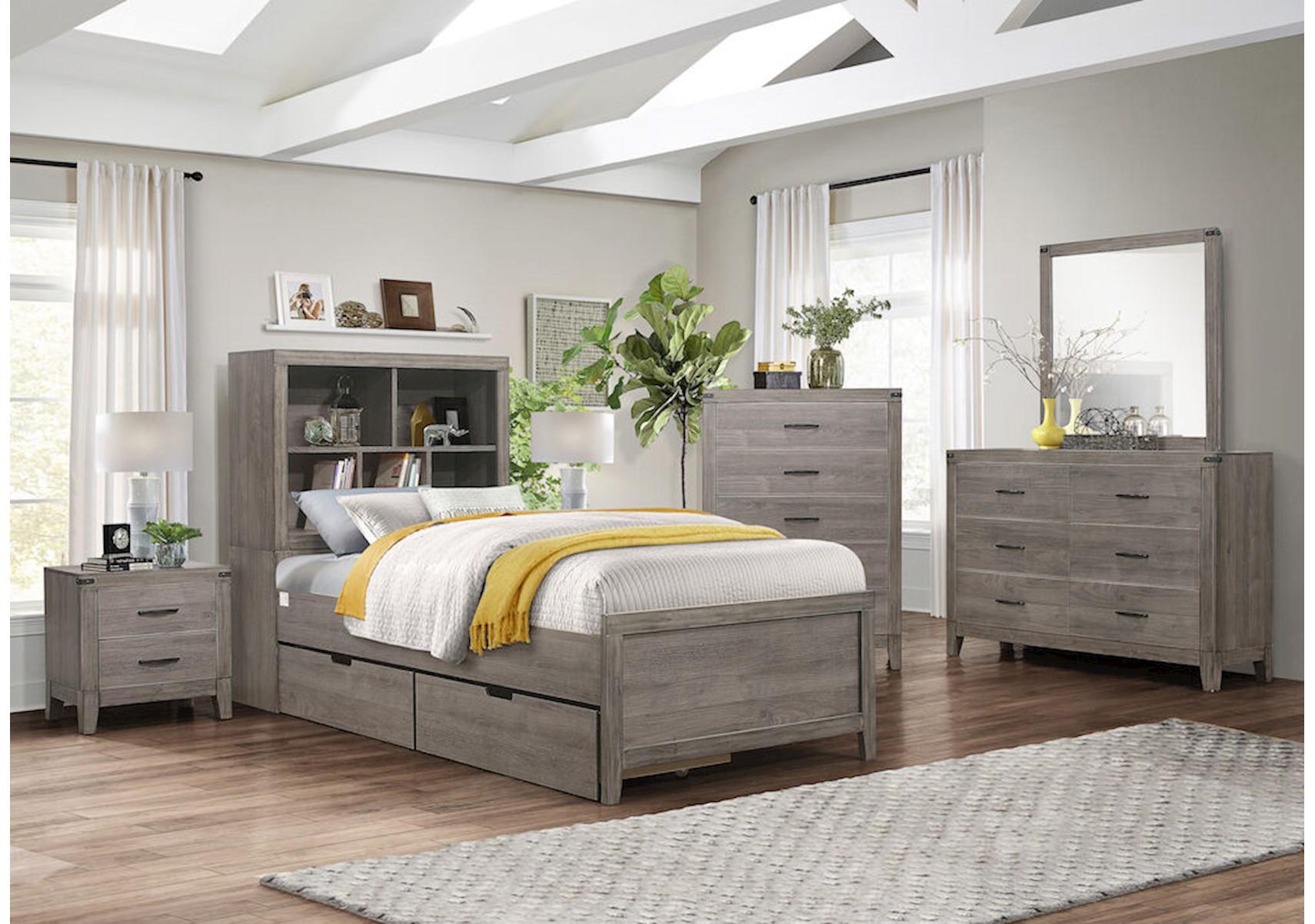 Lacks | Woodrow 4-Pc Kids Twin Bedroom Set