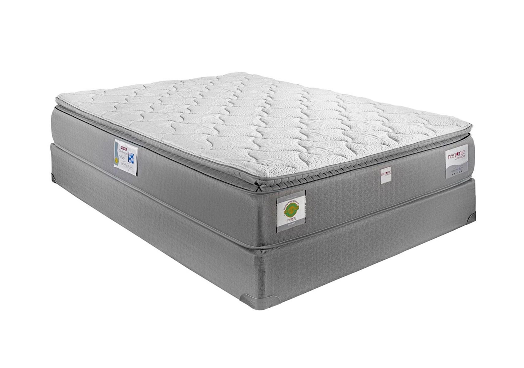 pillowtop stearns foster meadows english cal mattresses img top california set luxury plush euro mattress and pillow below wholesale king box