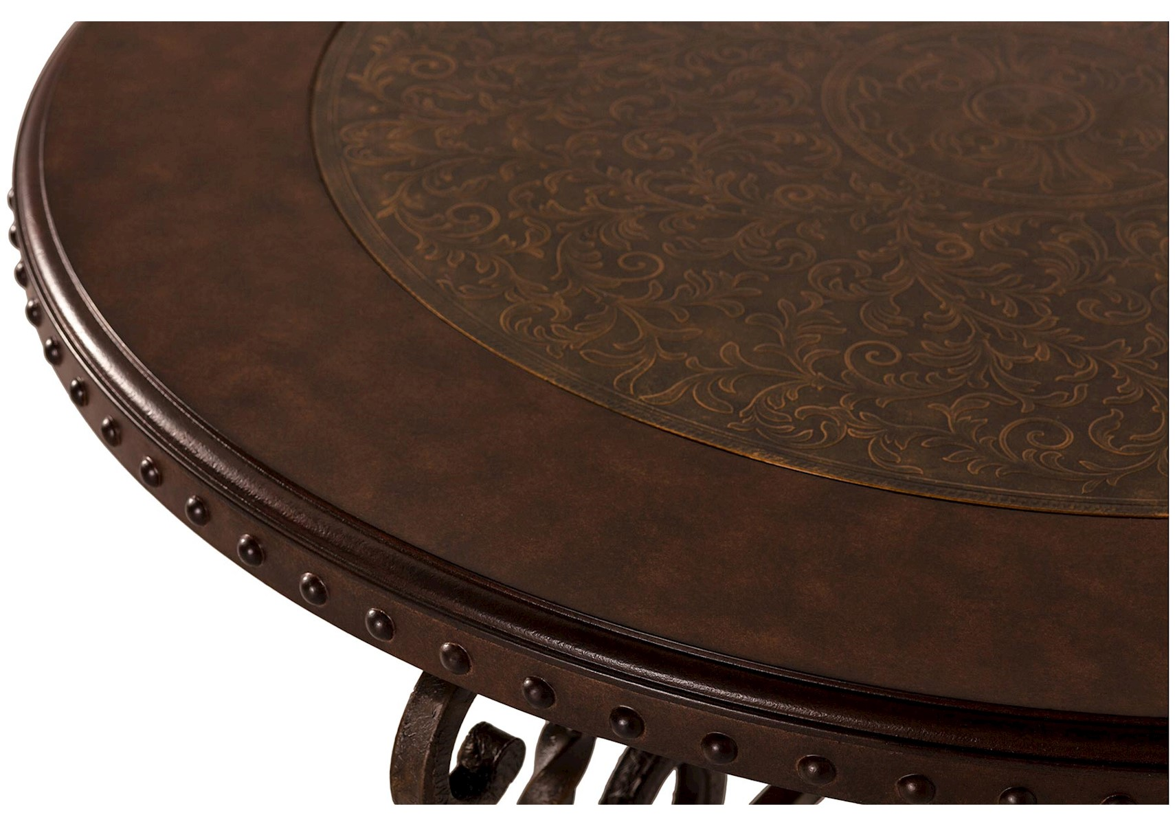 Lacks rafferty round coffee table x geotapseo Image collections