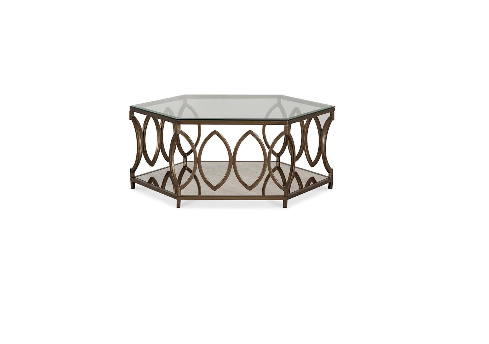 Lacks santa barbara hexagon coffee table geotapseo Images