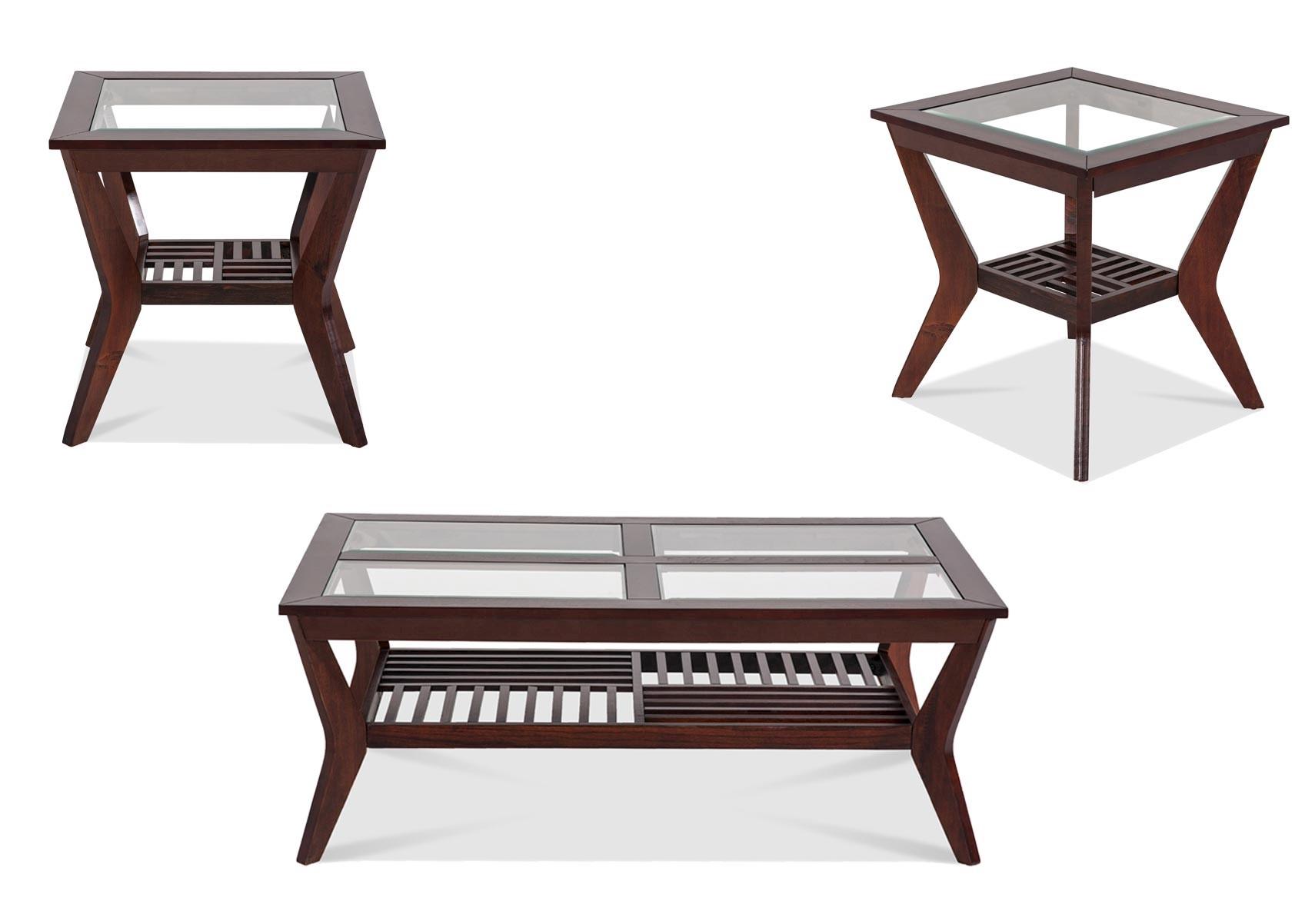 Lacks | Norway 3-Pc Coffee Table Set
