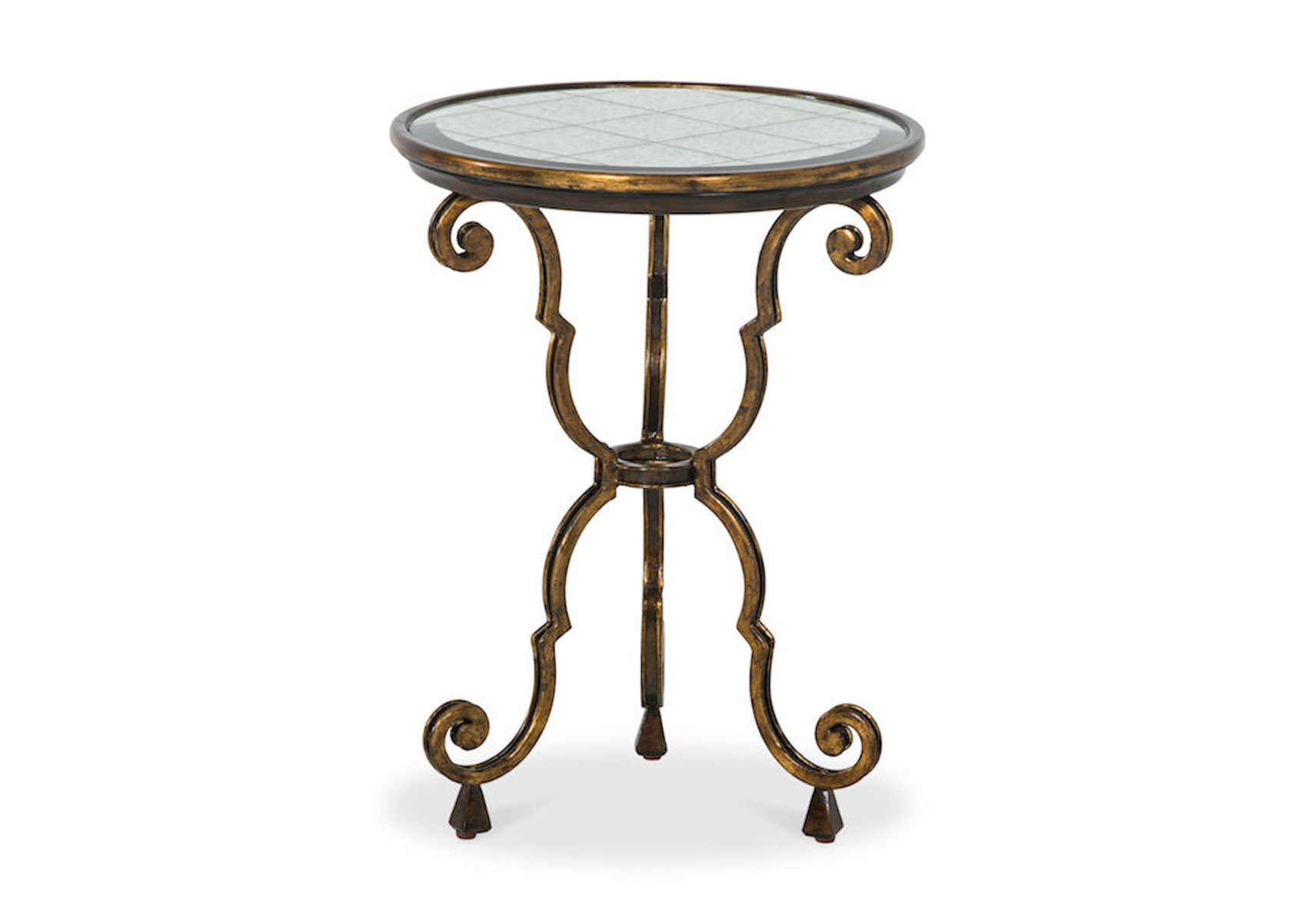 Picture of: Lacks Aria Round Chair Side Table